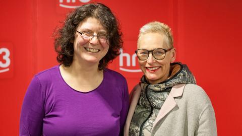 Bärbel Schäfer und Christine Thürmer
