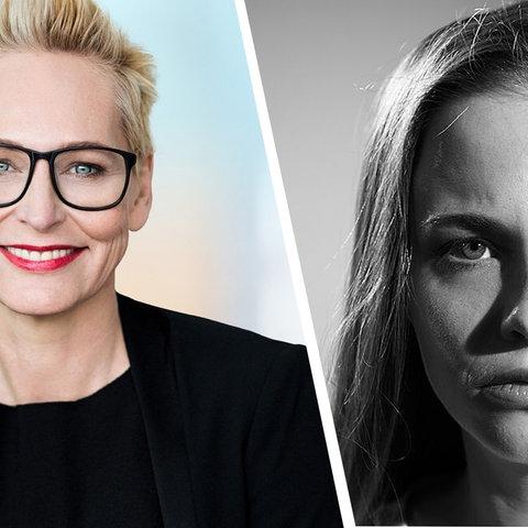 Jasna Fritzi Bauer zu Gast bei Bärbel Schäfer