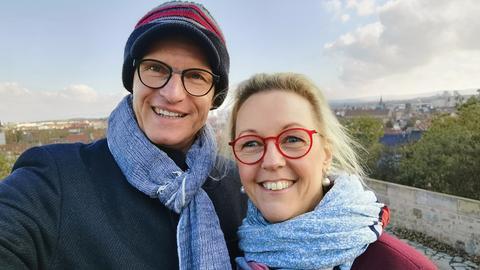 Karsten Brensing und Katrin Linke zu Gast bei Bärbel Schäfer