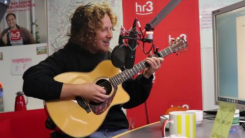 Michael Schulte in der hr3 Morningshow