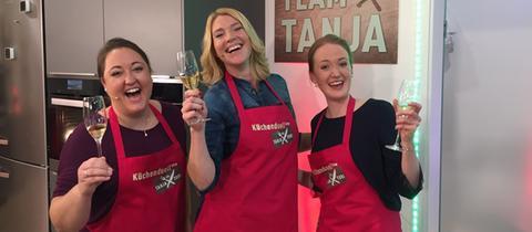 Team Tanja siegt im dritten Küchenduell