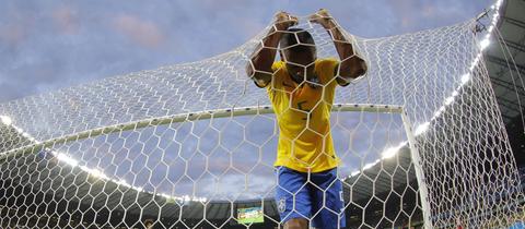 Die Deutsche Nationalmannschaft schlägt Brasilien im WM-Halbfinale 2014 mit 7:1