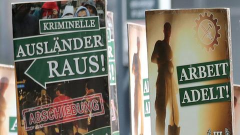 """Wahlplakate """"Der III. Weg"""""""