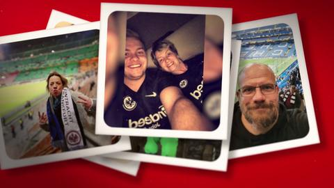 Die schönsten Fotos der Eintracht Fans