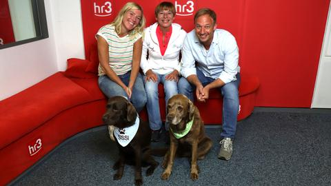Emma hilft in der hr3 Morningshow