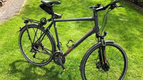 Jan Reppahn vermisst sein Fahrrad