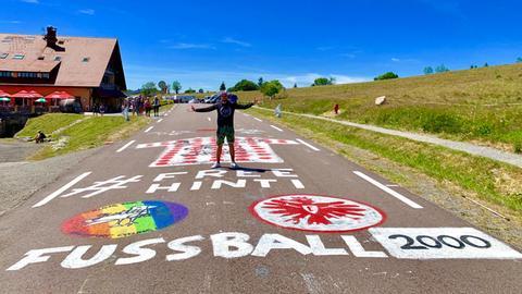 freehinti auf der Tour de France