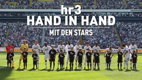 Hand in Hand mit den Stars