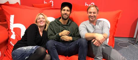 Max Giesinger in der hr3 Morningshow
