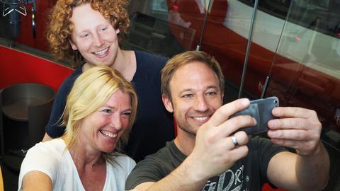 Michael Schulte zu Besuch bei Tobi und Tanja
