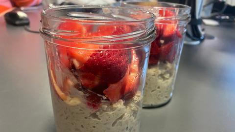 Erdbeer Milchreis