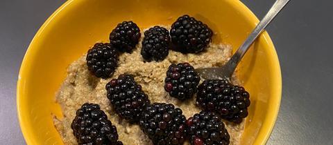 Hanf-Porridge