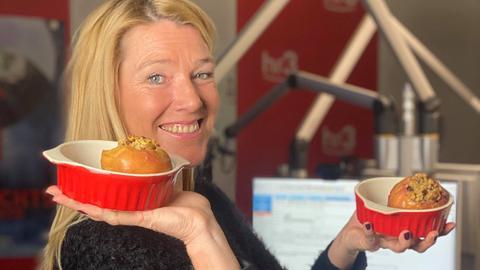 Tanjas Schlonz der Woche: Bratapfel Overnight Oats