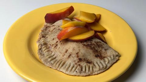 Schlonz der Woche Frühstücks-Calzone