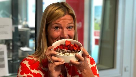 Schlonz der Woche: Erdbeer-Kokos-Porridge
