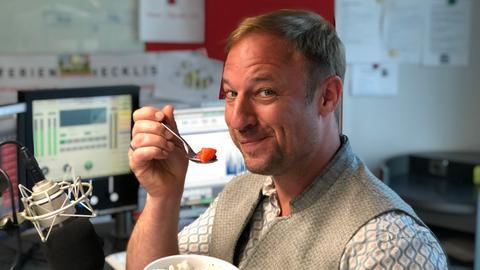 Schlonz der Woche Erdbeer-Kokos-Porridge