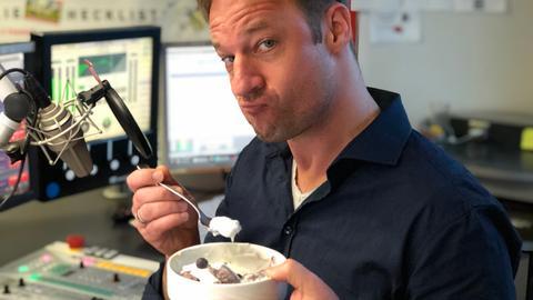 Schlonz Heidelbeer Joghurt Porridge