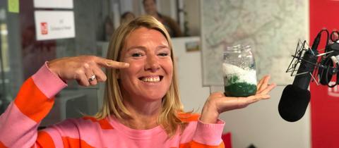 Tanjas Schlonz der Woche: Spirulina-Chia-Pudding