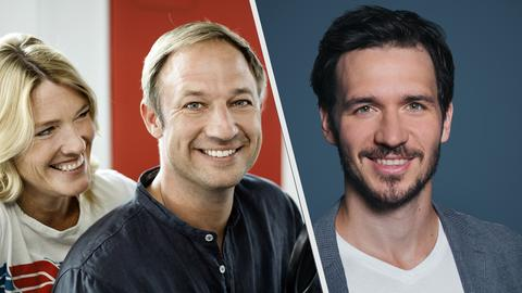 Felix Neureuter im Interview mit der hr3 Morningshow