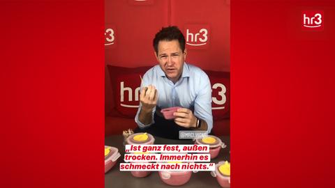 Marcel Wagner testet Fleischersatz Thumb