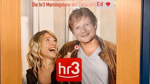Tanja und Ed Sheeran