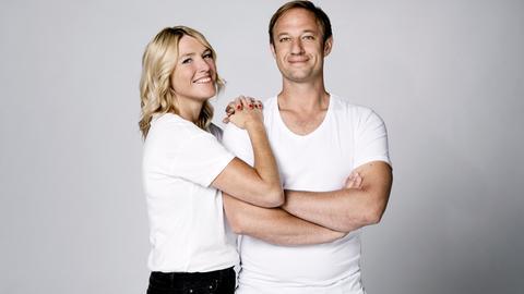 hr3 Moderatoren Tanja Rösner und Tobi Kämmerer