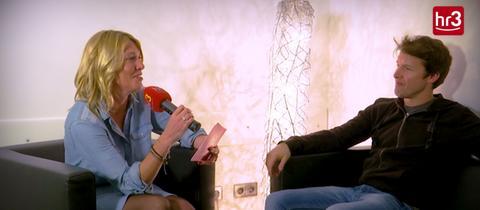 Startbild Video Interview Tanja und James Blunt