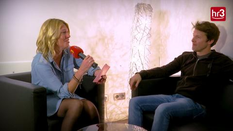 Startbild Video Interview Tanja und James Blunt