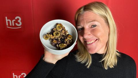 Tanjas Schlonz der Woche: Ofen-Oatmeal mit Bananen.