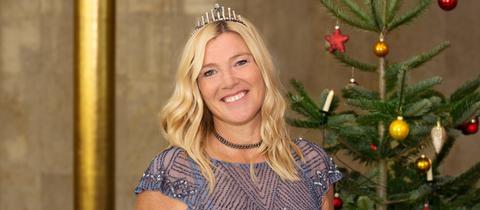 Weihnachtsbaumkönigin Tanja I.