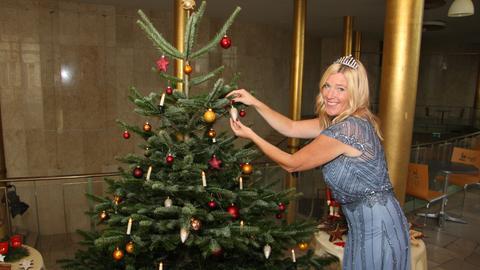 Weihnachtsbaumkönigin