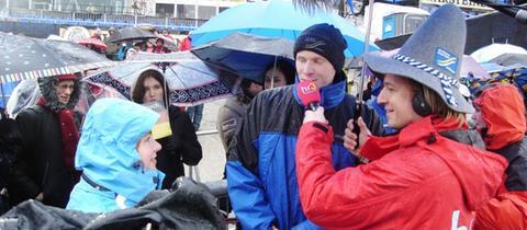 Sascha und Steffi beim Willingen Weltcup