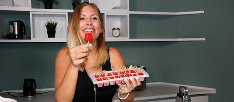 Kate testet Eispops