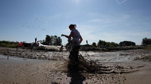 Nichts für Reinlichkeits-Fanatiker: Der Muddy Angels Run