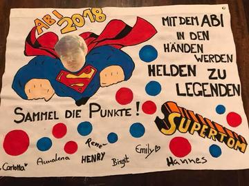 Abi-Plakat für Tom