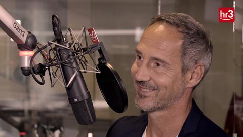 Adi Hütter im hr3 Studio