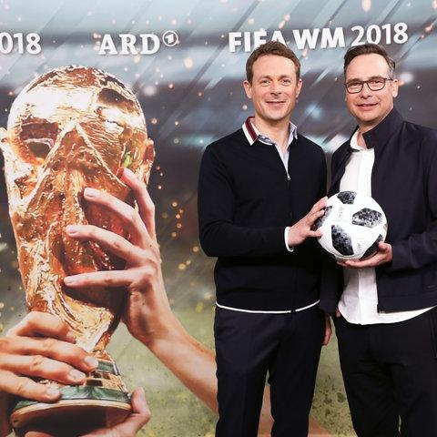 ARD Moderatoren Alexander Bommes und Matthias Opdenhövel