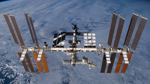 Für die nächsten Monate das Zuhause von Alexander Gerst: Die ISS