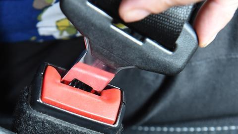 Gurt im Auto