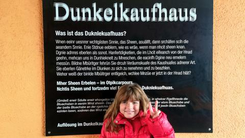 Dunkelkaufhaus in Wetzlar