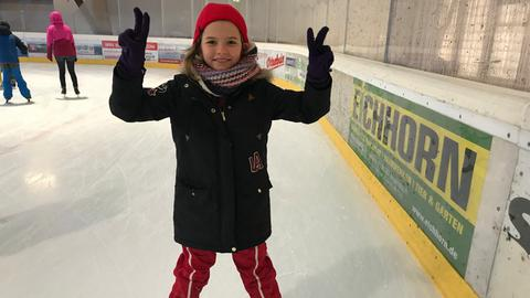 Eva-Lotte in der Eissport-Arena Lauterbach