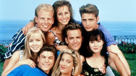 Beverly Hills 90210 früher und heute