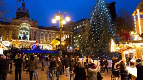 "Der Frankfurter ""Christmas Market"" in Birmingham"