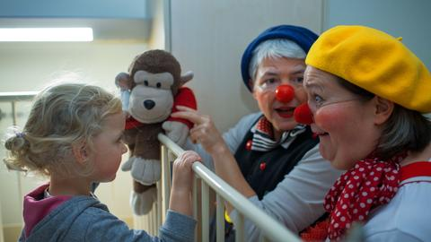 Clown Doktoren 2014 in Schwerin
