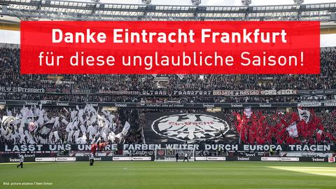 Danke Eintracht Frankfurt