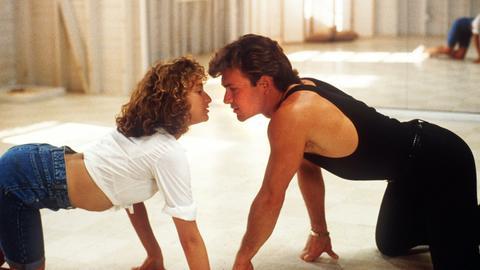Jennifer Grey und Patrick Swayze in einer Filmszene aus Dirty Dancing