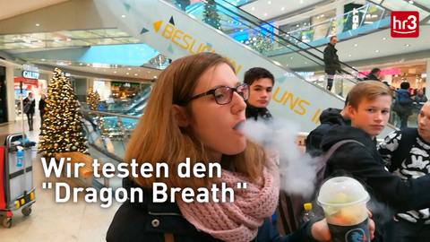 Dragon-Breath probieren