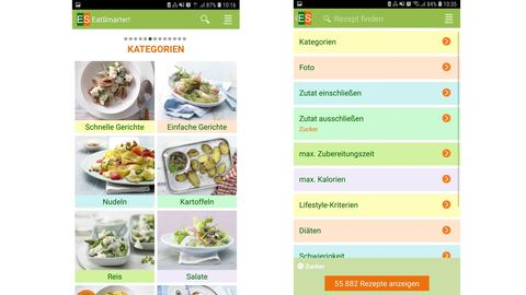 Eat Smarter: Screenshot