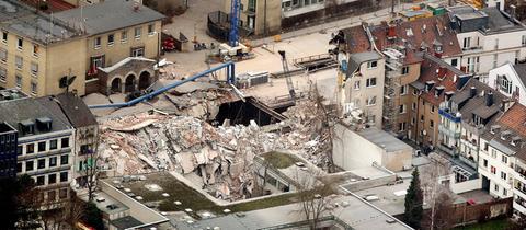 Einsturz des Kölner Stadtarchivs