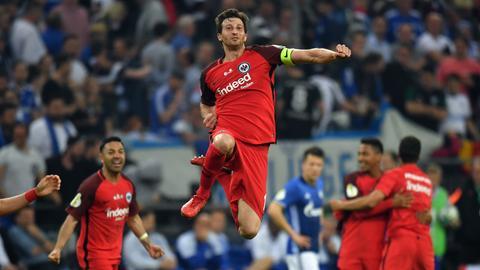 Eintracht Frankfurt steht im DFB Pokalfinale